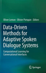 Omslag - Data-Driven Methods for Adaptive Spoken Dialogue Systems
