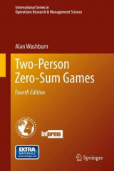 Omslag - Two-Person Zero-Sum Games
