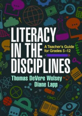 Omslag - Literacy in the Disciplines