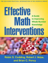 Omslag - Effective Math Interventions