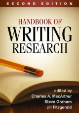 Omslag - Handbook of Writing Research