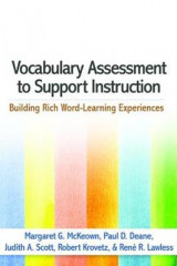 Omslag - Vocabulary Assessment to Support Instruction