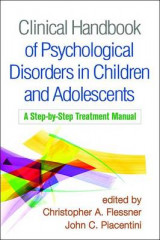 Omslag - Clinical Handbook of Psychological Disorders in Children and Adolescents