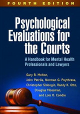 Omslag - Psychological Evaluations for the Courts, Fourth Edition
