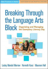 Omslag - Breaking Through the Language Arts Block