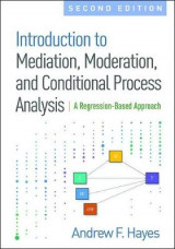 Omslag - Introduction to Mediation, Moderation, and Conditional Process Analysis, Second Edition