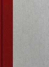 Omslag - KJV Study Bible, Crimson/Gray Cloth Over Board