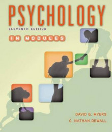 Psychology in Modules av David G. Myers og C. Nathan DeWall (Innbundet)
