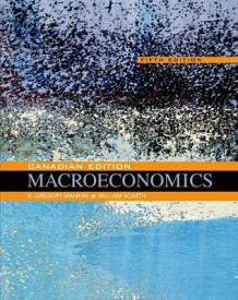 Macroeconomics: Canadian Edition av N Gregory Mankiw og University William M Scarth (Innbundet)