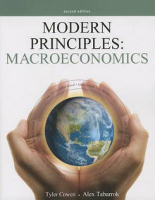 Modern Principles: Macroeconomics with Access Code av Author Tyler Cowen og Alex Tabarrok (Heftet)