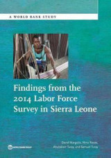 Omslag - Findings from the 2014 Labor Force Survey in Sierra Leone