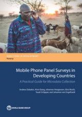 Omslag - Mobile Phone Panel Surveys in Developing Countries