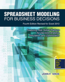 Spreadsheet Modeling for Business Decisions av John F. Kros (Heftet)