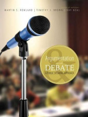Argumentation and Debate: A Public Speaking Approach av Tim J Brown, Kay Neal og Martin Remland (Heftet)