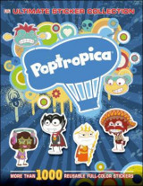 Omslag - Poptropica Ultimate Sticker Collection