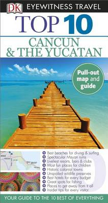 Top 10 Cancun and Yucatan av Nick Rider (Heftet)