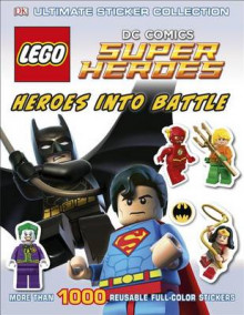Ultimate Sticker Collection: Lego DC Comics Super Heroes: Heroes Into Battle av Julia March (Heftet)