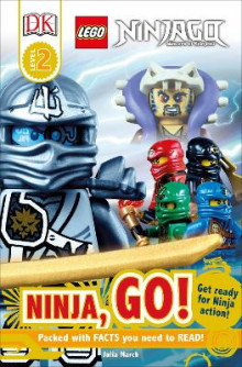 DK Readers L2: Lego Ninjago: Ninja, Go! av Julia March (Heftet)
