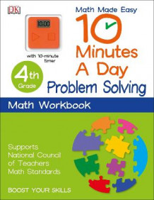 10 Minutes a Day: Problem Solving, Fourth Grade av DK Publishing (Heftet)