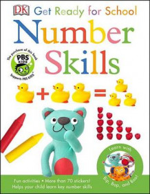 Bip, Bop, and Boo Get Ready for School: Number Skills av DK (Heftet)