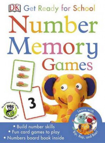 Bip, Bop, and Boo Get Ready for School Games: Number Memory av DK (Undervisningskort)