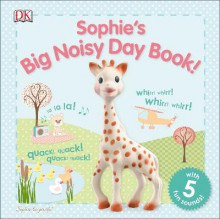 Sophie La Girafe: Sophie's Big Noisy Day Book! av DK Publishing (Pappbok)