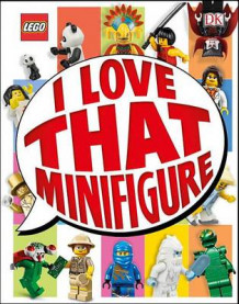 Lego: I Love That Minifigure (Library Edition) av DK (Innbundet)