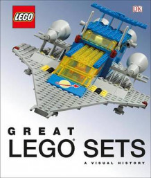 Great Lego Sets: A Visual History av Daniel Lipkowitz (Innbundet)