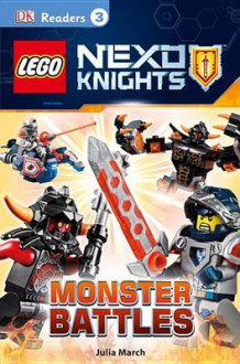 Lego Nexo Knights: Monster Battles av Julia March (Heftet)