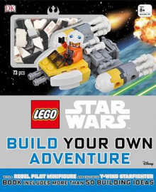 Lego Star Wars: Build Your Own Adventure av DK og Daniel Lipkowitz (Blandet mediaprodukt)
