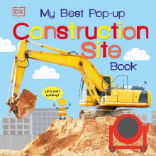 My Best Pop-Up Construction Site Book av DK (Pappbok)