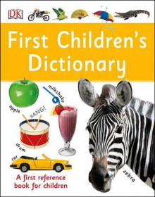 First Children's Dictionary av DK (Innbundet)