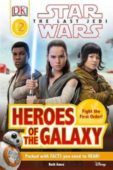 Omslag - DK Reader L2 Star Wars the Last Jedi Heroes of the Galaxy