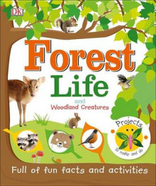 Forest Life and Woodland Creatures av DK (Innbundet)