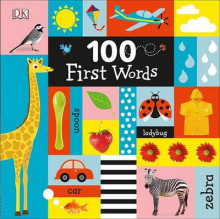 100 First Words av DK (Pappbok)