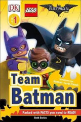 Omslag - DK Readers L1: The Lego(r) Batman Movie Team Batman