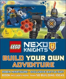 Lego Nexo Knights Build Your Own Adventure av DK og Simon Hugo (Blandet mediaprodukt)