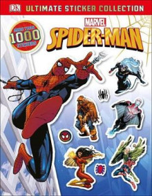 Ultimate Sticker Collection: Spider-Man av Julia March (Heftet)