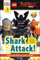 Omslag - DK Readers L1: The Lego(r) Ninjago(r) Movie: Shark Attack!