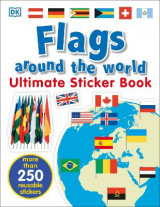 Omslag - Ultimate Sticker Book: Flags Around the World