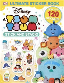 Ultimate Sticker Book: Disney Tsum Tsum Stick and Stack! av DK (Heftet)
