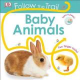 Omslag - Follow the Trail: Baby Animals