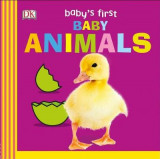 Omslag - Baby's First Baby Animals