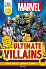 Omslag - DK Readers L2: Marvel's Ultimate Villains