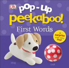 Pop-Up Peekaboo: First Words av DK (Pappbok)