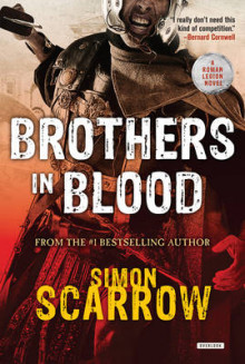 Brothers in Blood av Simon Scarrow (Innbundet)