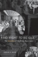 Omslag - No Right to be Idle