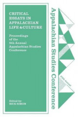 Omslag - Critical Essays in Appalachian Life and Culture