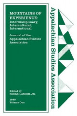 Omslag - Journal of the Appalachian Studies Association, 1989: Volume 1