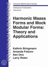 Omslag - Harmonic Maass Forms and Mock Modular Forms